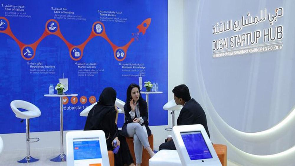 Dubai Startup Hub Divulge a  Startup website