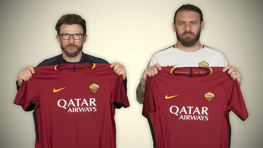 Italian Club Roma Partners With Qatar Airways for Sponsored Shirts